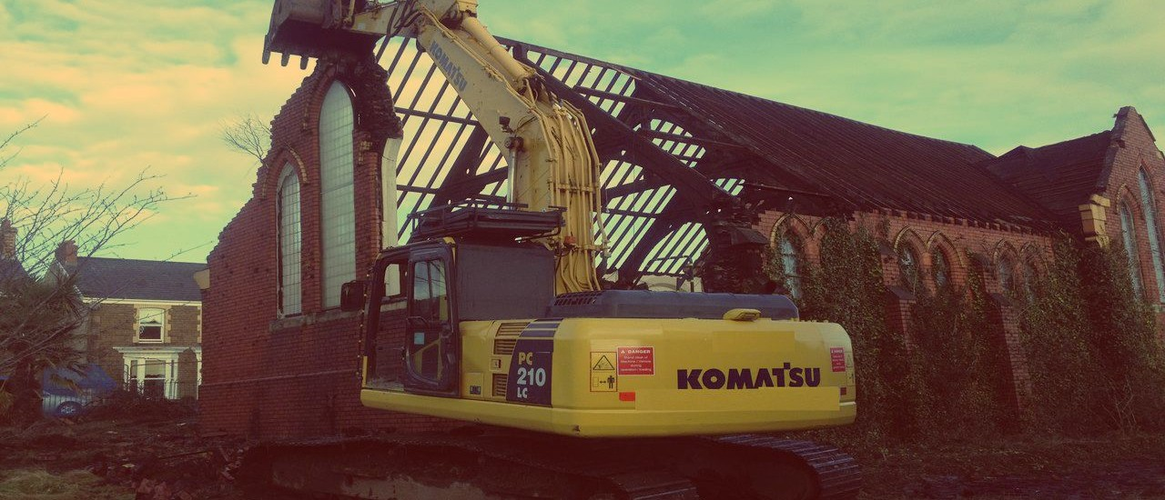 Crynant Plant & Construction Ltd. Demolition